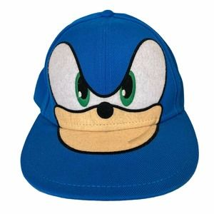 Sonic The Hedgehog Sega Character Cap Med Fitted